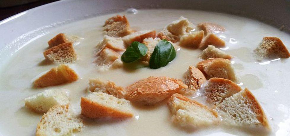 Zupa krem czosnkowa z grzankami (autor: idealme ...