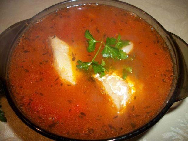 Przepis  zupa z owocami morza przepis