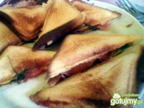 Przepis  tosty z szynką szwarcwaldzką przepis