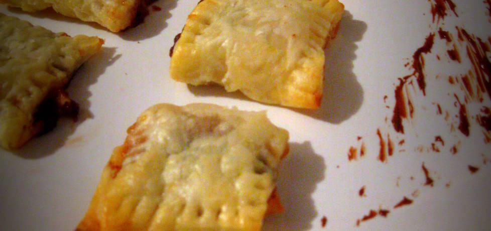 Ciasteczka francuskie z jabłkami i nutellą (autor: pyszota ...