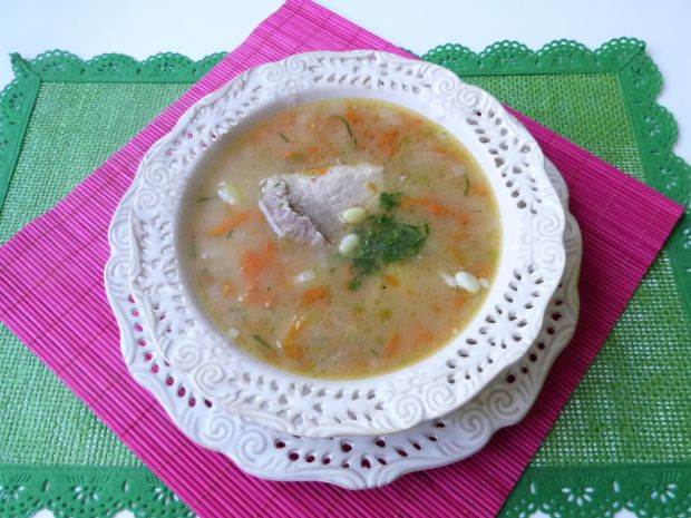 Przepis  zupa warzywna z fasolą przepis