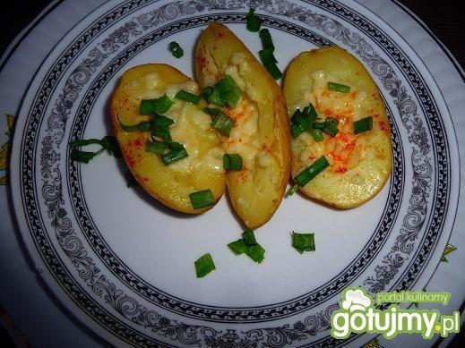 Przepis  młode ziemniaki z grilla z mozzarellą przepis