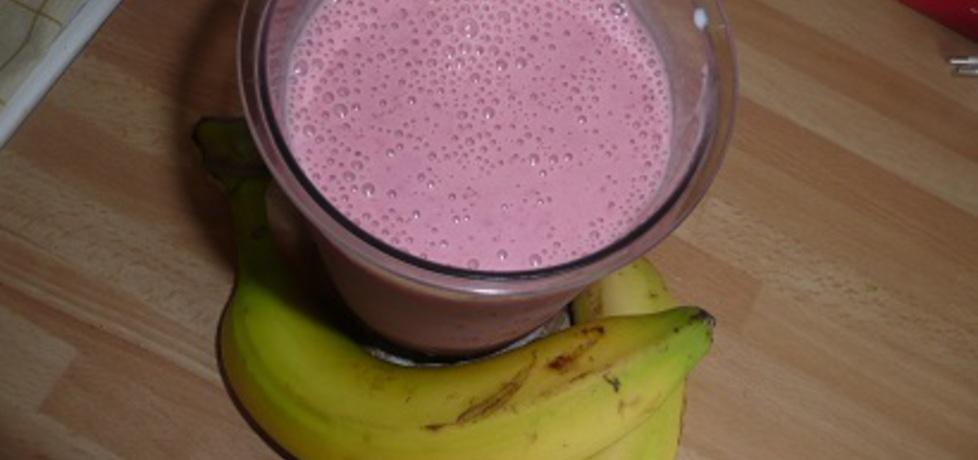 Koktajl truskawkowo-bananowy (autor: aginaa)