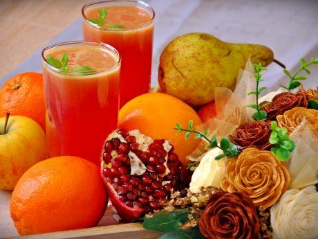 Przepis  pożywny sok orzeźwiający przepis