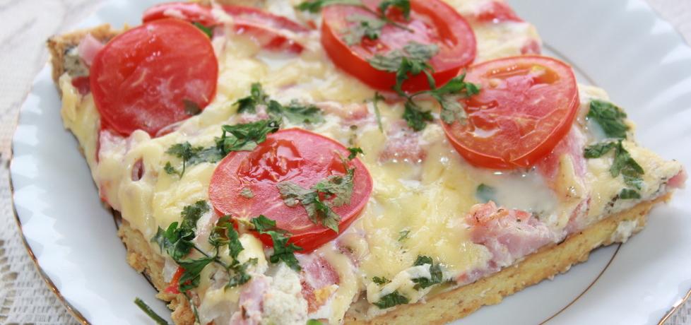 Ciasto z pomidorkami koktajlowymi (autor: iskierka.ag ...
