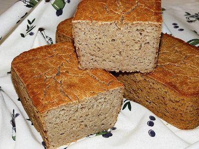 Chleb bezglutenowy z ziemniakami