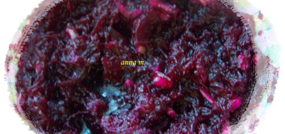 Buraczki do obiadu z cebulką (autor: anna180)