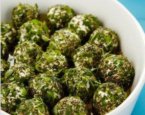Kulki serowo-ziołowe  prosty przepis i składniki