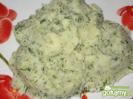 Przepis  puree z ziemniaków i kalafiora przepis