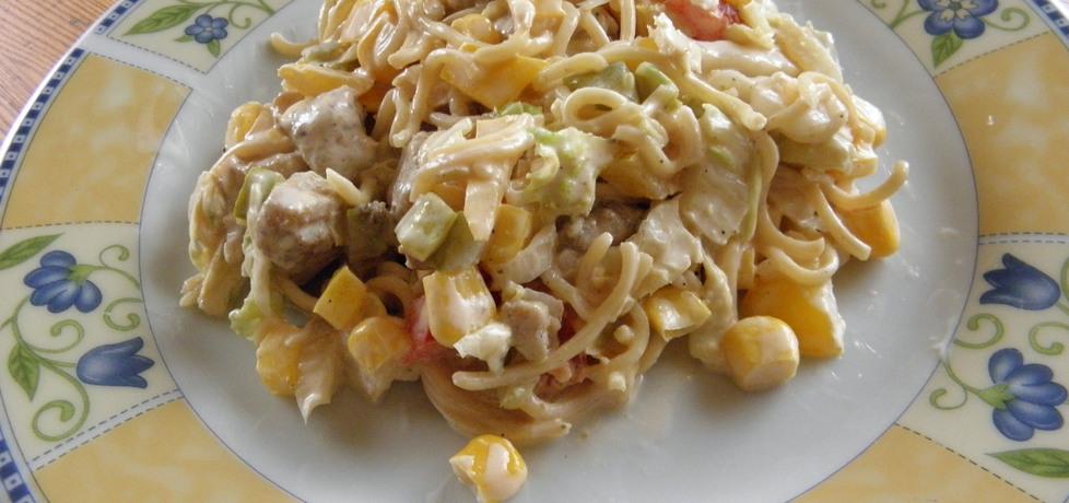 Sałatka z zupek chińskich (autor: natalija)
