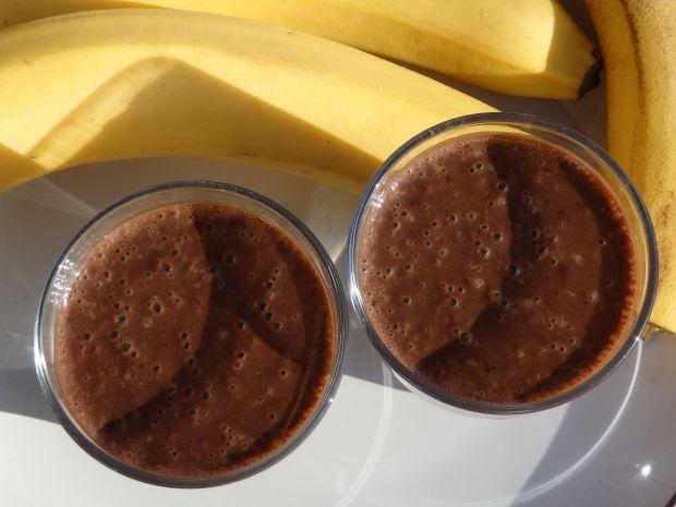 Przepis  koktajl bananowy z kakao przepis