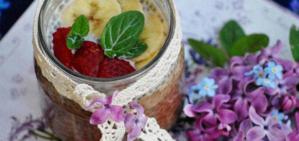 Pudding czekoladowy z nasion chia (autor: smerfetka79 ...