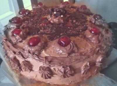 Torcik czekoladowo
