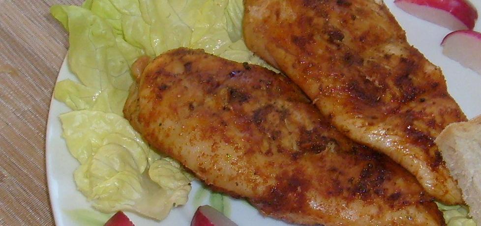 Grillowane piersi kurczaka w paprykowej marynacie ...