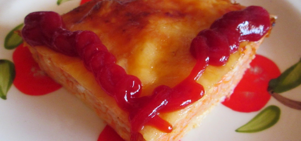 Zapiekanka pomidorowa z makaronem (autor: katarzyna40 ...