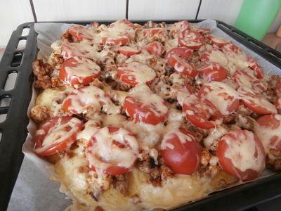Pizza na naleśnikowym spodzie
