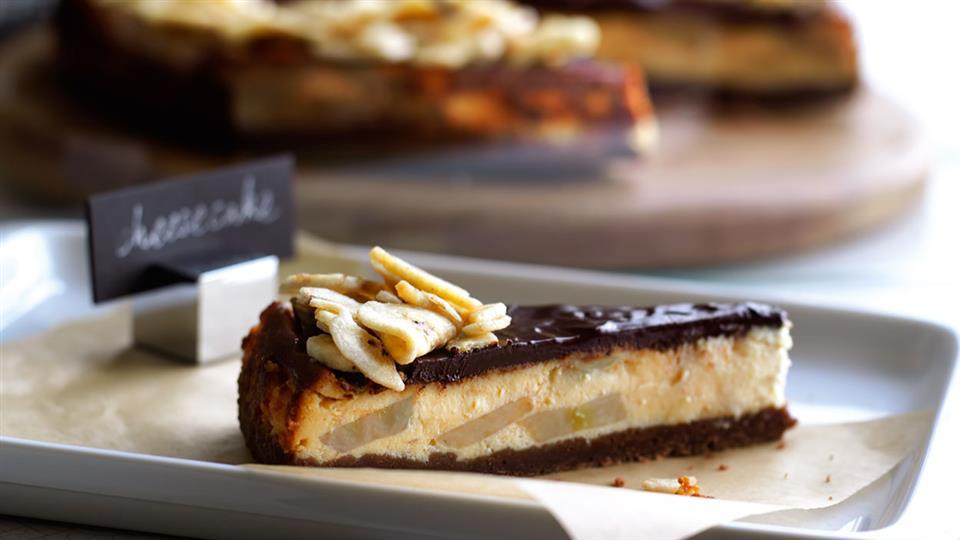 Przepis na sernik czekoladowo-bananowy