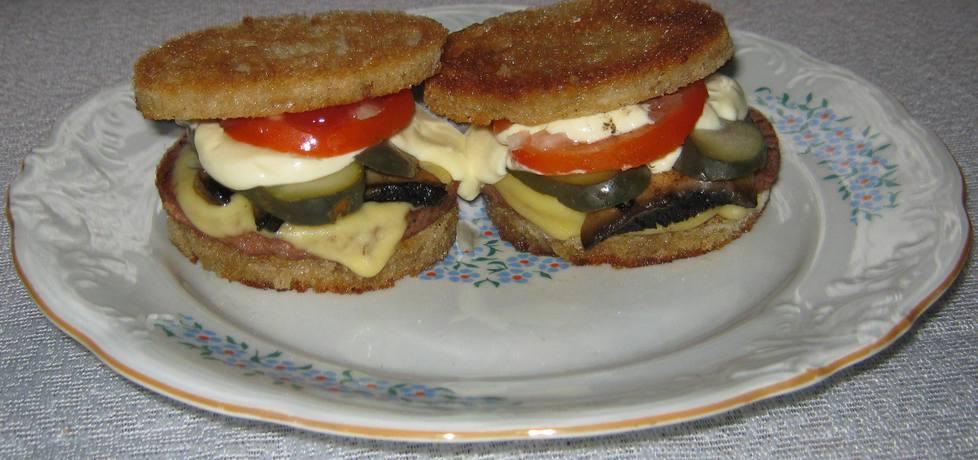 Tostowe hamburgery (autor: katarzynka455)