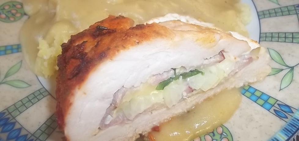 Pieczona pierś z kurczaka z serem camembert (autor: beatris ...