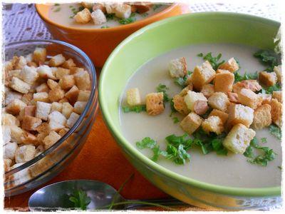 Zupa krem ziemniaczano