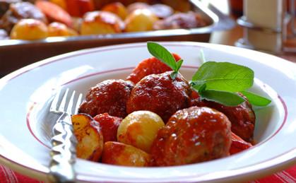 Klopsiki w pomidorowym sosie