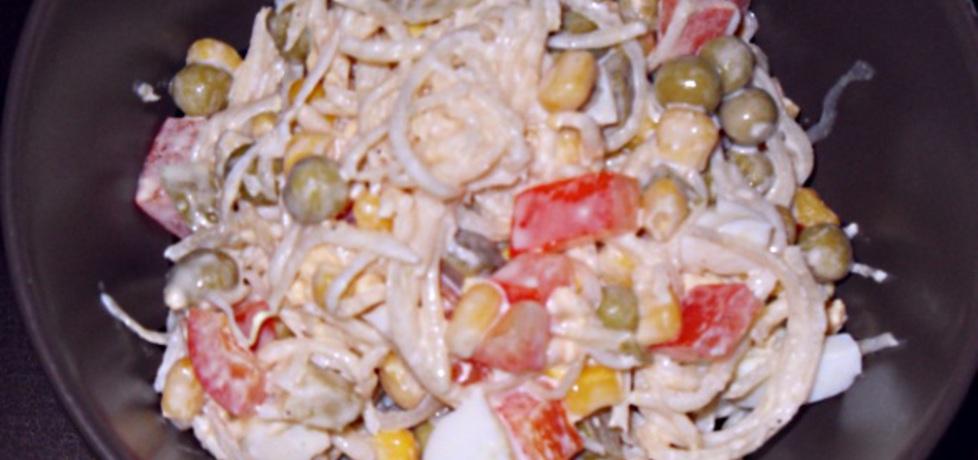 Sałatka z selerem marynowanym (autor: justa)