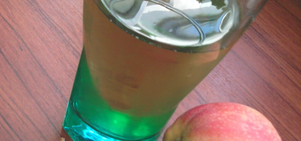 Napój nektarynkowo  jabłkowy (autor: polly66)