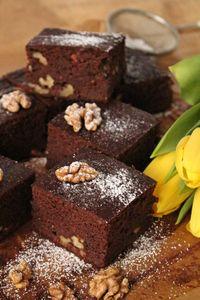 Dietetyczne brownie z fasoli