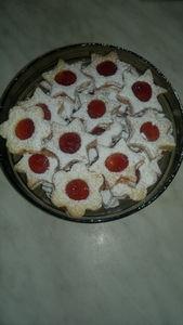 Ciastka z dżemem