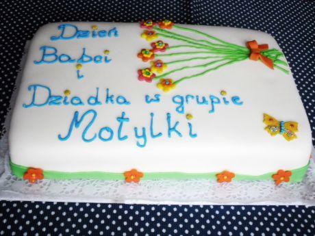 Przepis  tort na dzień babci i dziadka przepis