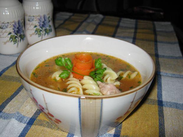 Przepis  zupa na żeberkach przepis