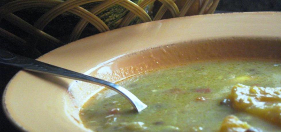 Zupa dyniowa z soczewicą. (autor: anna169hosz)