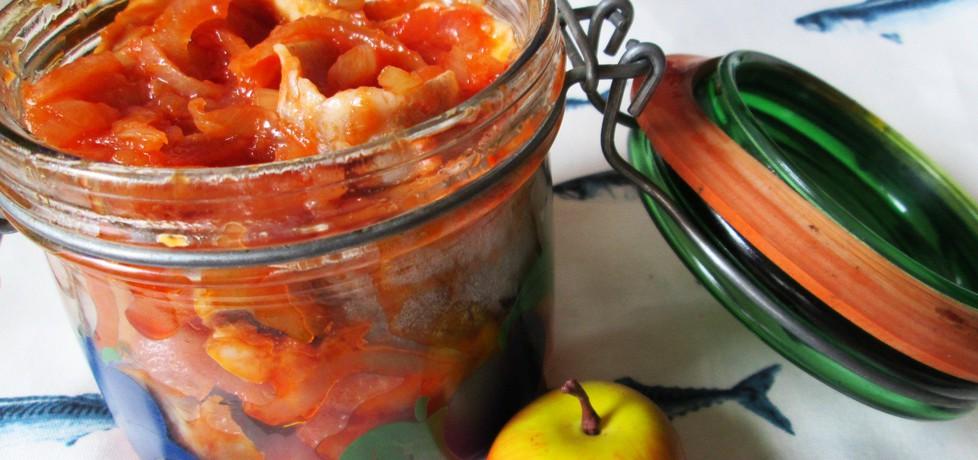 Śledź z jabłkami do słoika (autor: katarzyna40)