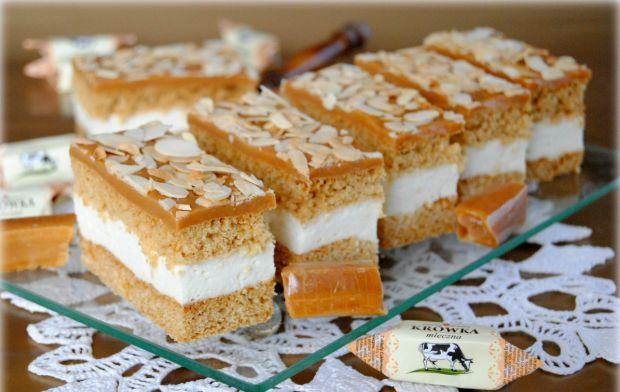 Przepis  ciasto serowa krówka przepis
