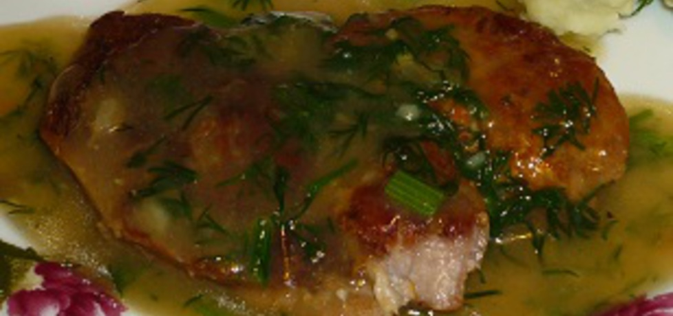 Wieprzowina w sosie koperkowym (autor: wafelek2601 ...