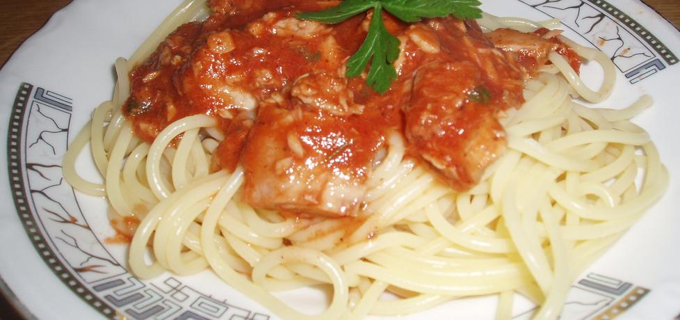 Lekkie danie z makaronem i z tuńczykiem (autor: gosia18 ...