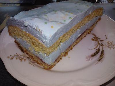 Ciasto słodka smerfetka