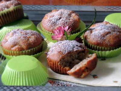 Muffinki z jabłuszkiem i kokosem
