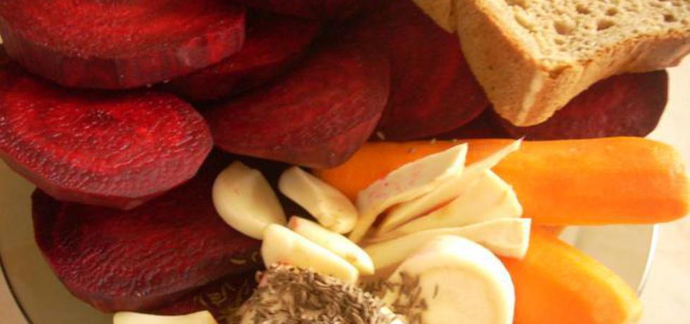 Kiszony barszcz czerwony (autor: smacznapyza)