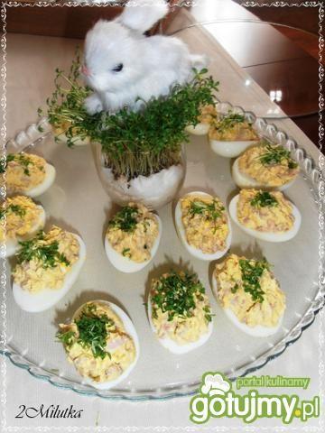 Przepis  jajeczne łódeczki przepis