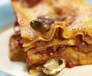 Lasagne z borowikami  prosty przepis i składniki