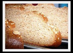 Pełnoziarnisty chleb  prosty przepis i składniki