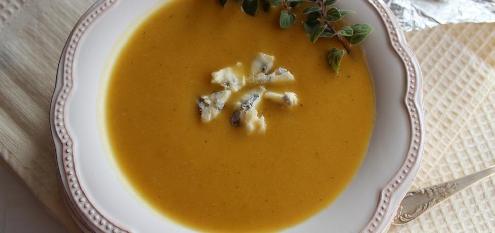 Kremowa zupa z dyni z serem pleśniowym (autor: anemon ...