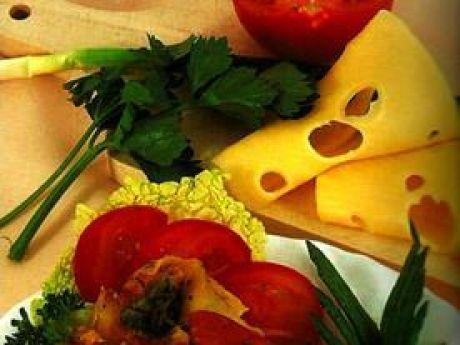 Przepis  lasagne z sosem mięsno-pieczarkowym przepis