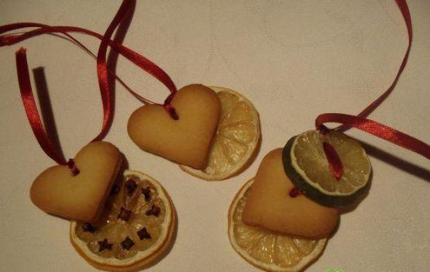 Przepis  choinkowe zawieszki z ciasteczkami przepis