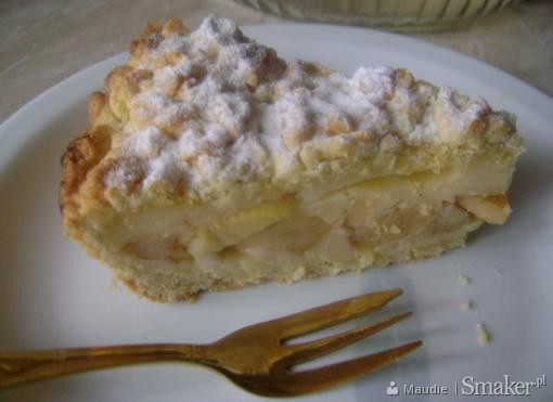Ciasto Ucierane z Budyniem i Jabłkami Ciasto z Budyniem i Jabłkami