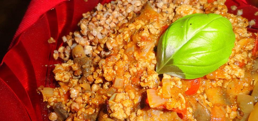 Chili con carne z kaszą gryczaną (autor: rafal10)