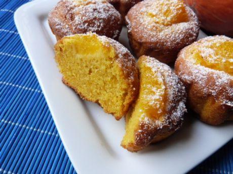 Przepis  pomarańczowe muffiny z dynią hokkaido przepis