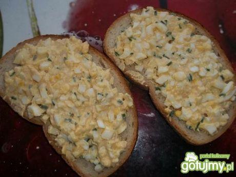 Przepis  pasta jajeczna do chleba przepis