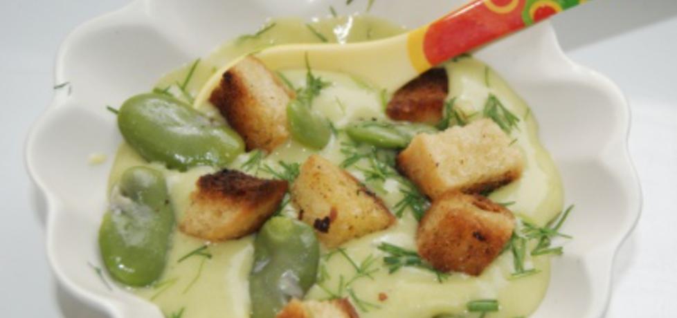 Zupa krem z bobu (autor: babciagramolka)